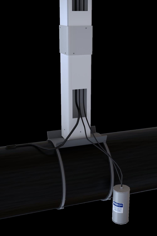 УКСГ (устройство крепления КИП в слабонесущих грунтах)